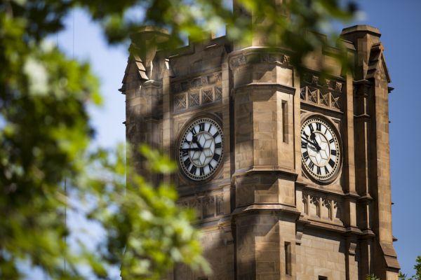 Clock Tower Close Up