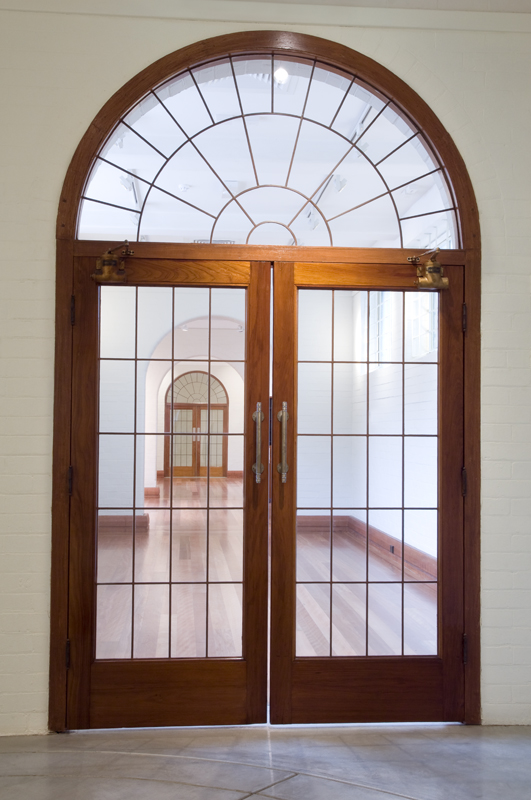 Grainger Museum Interior Door
