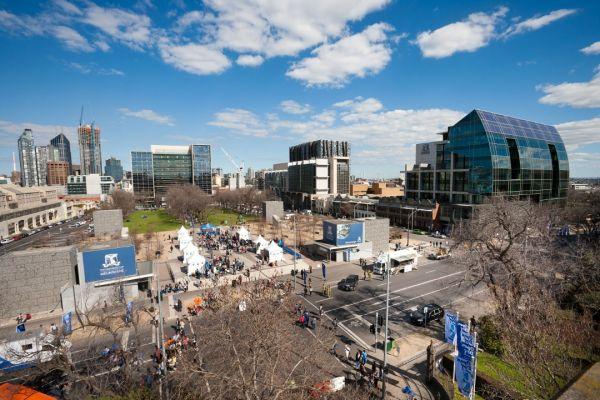 University Square Aerial view