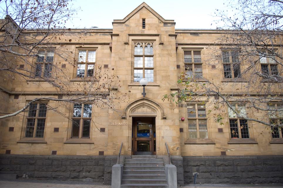 Old Arts Western Entrance